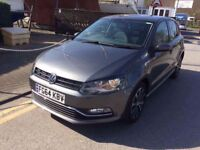 64 PLATE VOLKSWAGEN POLO MATCH EDITION GREY 10,000 MILES CAT C EXCELLENT CONDITION INSIDE AND OUT