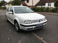 2004 VOLKSWAGEN GOLF MATCH 1.6,LONG MOT-FULL SERVICE HISTORY