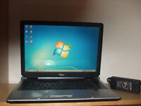 17 Inch Dual Core Laptop (wi fi and internet ready)