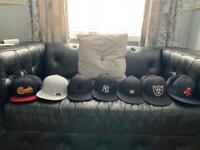 Collection of men's caps