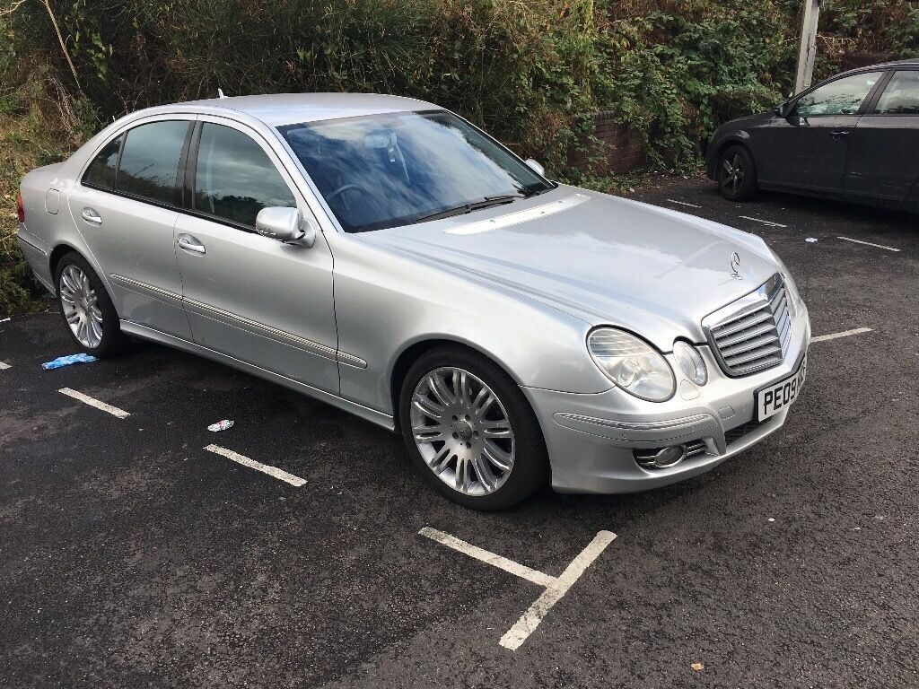 2009 mercedes e class e280 sport 3 0 v6 cdi 7g tronic silver e320 e220 reduced from 4499 in. Black Bedroom Furniture Sets. Home Design Ideas