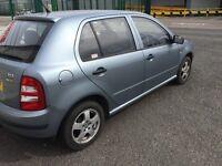 Skoda fabia 1.2 cheap car