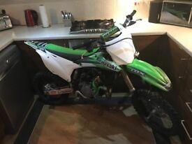 Kawasaki kx 85 2014