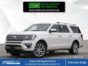 2018 Ford Expedition 4DR 4WD LTD MAX- NAVIGATION- MOONROOF- LEAT