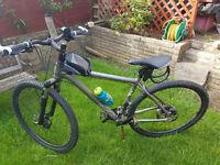 As new, VooDoo Hoodoo Mountain Bike, 20inc frame, 29inc wheels £500 in Halfords.