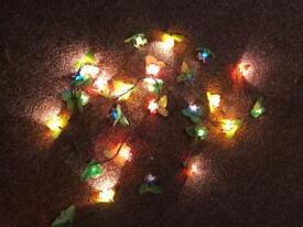 Flower Xmas lights