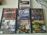 Playstation games x 7