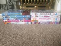 50 dvds, blu rays and box sets