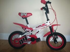 Kids Red 12 inch bicycle