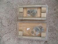 BNIP 3x B&Q IT Kitchens Brushed Nickel Effect Bar Cabinet handle