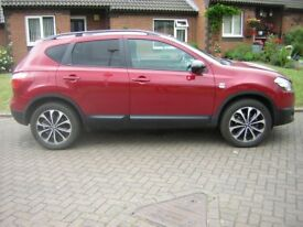 A NISSAN QASHQAI 306,REGISTERED 06-09-2013,VERY GENUINE 7975 MILEAGE,SUPERB CONDITION