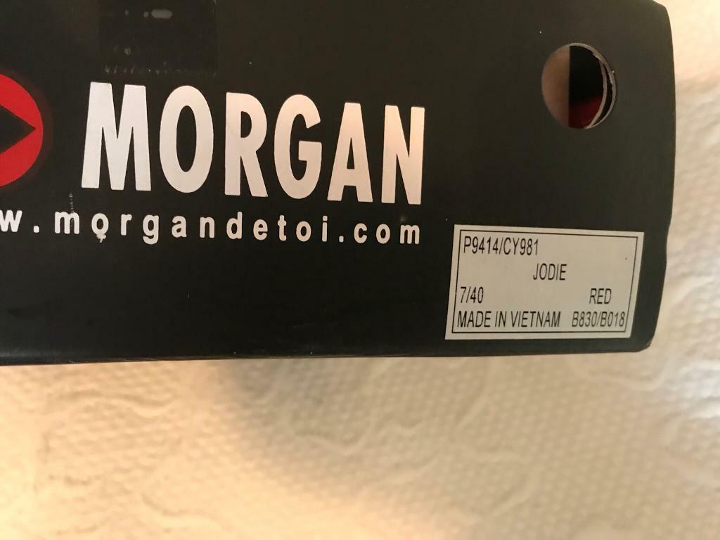 Morgan ladies shoes size 7 Boxed 2 pairs