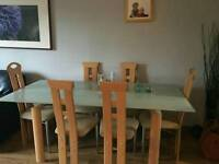 Dining table and chairs sold sold sold sold sold