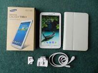 """Samsung Galaxy Tab 3 7"""" screen plus case"""