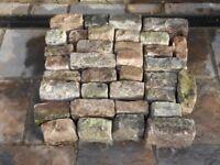 Reclaimed Victorian Granite Blocks in BS8