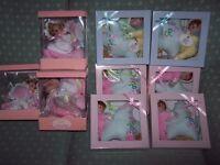 10 NEW & BOXED STEWART ROSS BABY GIFT GIRL CHRISTENING, BIRTHDAY, IDEA MARKET/BOOTSALE/SHOP