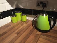 Green kitchen appliances