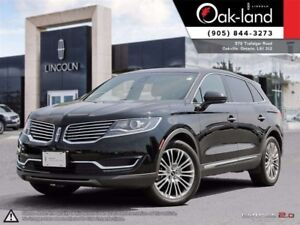 2016 Lincoln MKX Reserve,Fin From 0.9%,Ext Warranty Inc