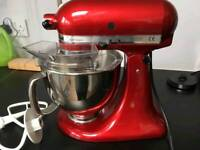 Kitchenaid Red Food Mixer