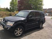 Mitsubishi Shogun warrior great condition clean from inside and out