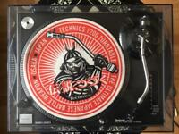 Technics 1210 Mk2 Black Turntable hardly used with box an inserts