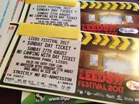 Leeds festival tickets.. 2 tickets for Sunday