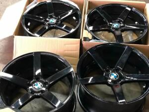 4 New $799 CASH 20 Inch Staggered Wheel BMW X5 X6  Call 905 673 2828 New Wheels one Have Minor Finish Defect hard to see