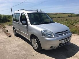 CITROEN BERLINGO MULTISPACE DESIRE 1.6 SILVER 2004 1 OWNER FSH