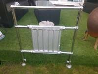 Chrome towel rail / radiator