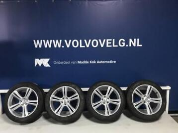 Volvo 18 5-Double Spoke Silver velgen + Michelin winterb...