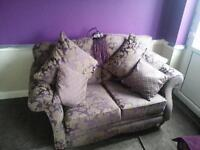2 beautiful sofas bargain