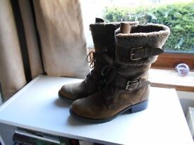 Clarks Suede Boots size 6