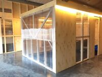 3/4 Person Office Space Available in Brand New Creative Hub - Great Transport Links - Zone 2