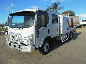 Isuzu NQR450 Dual Cab NQR 450 Tray back Service Body Glanmire Gympie Area Preview