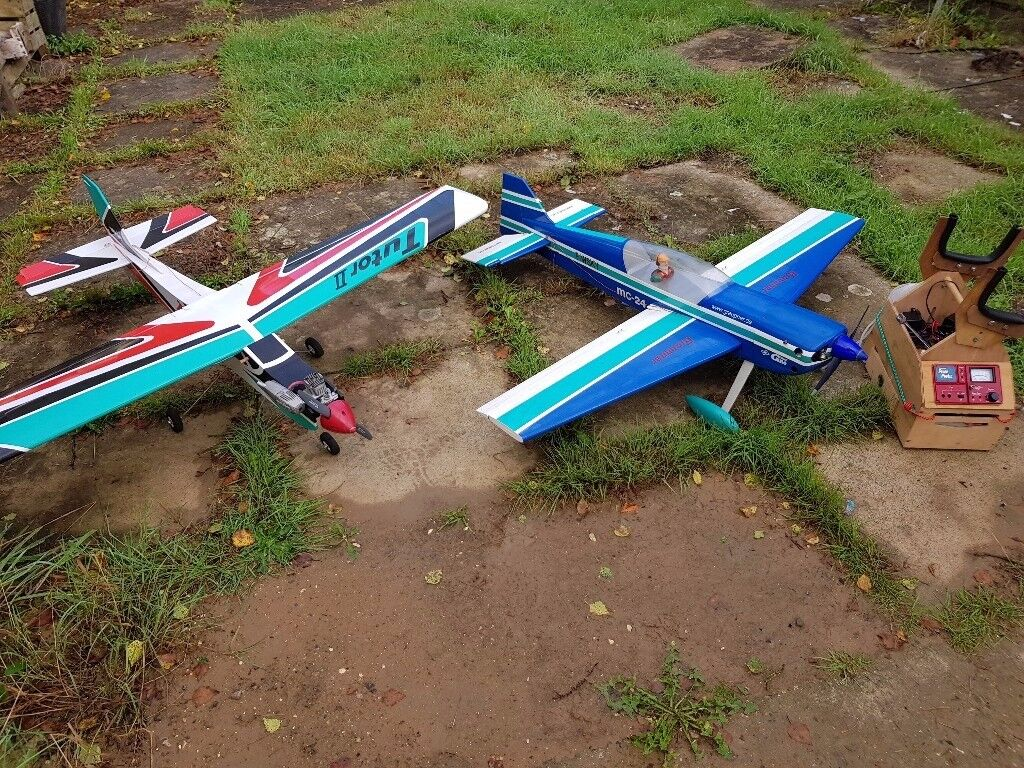 2 nitro planes and equiment