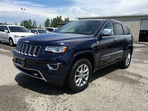 2015 Jeep Grand Cherokee Overland - DIESEL / NAVI / SUNROOF