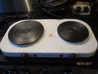 Electric Hot Plate twin Hob