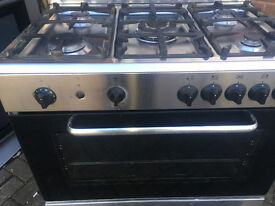 BAUMATIC PROFESIONAL RANGE GAS COOKER 5 BURNERS 90 CM...INOX LOOK...FREE DELIVERY