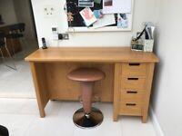 Stunning bespoke oak desk for kitchen for sale  Tunbridge Wells, Kent