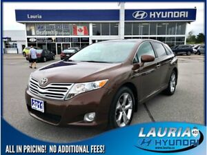 2011 Toyota Venza V6 AWD - Leather / Loaded!