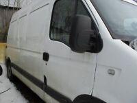 Renault master van 2009 120dci for parts or repair. may swap or px