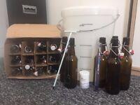 18 Swing Top Bottles
