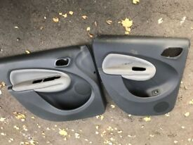 Inside car door cover for citreon picasso c3