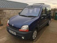 2003 RENAULT KANGOO 1.4 AUTOMATIC WHEEL CHAIR ACCESS DISABLED MOBILITY
