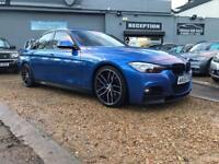 BMW 3 SERIES 3.0 335D XDRIVE M SPORT 4d AUTO 308 BHP (blue) 2015