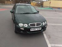 rover 25 low miles 33k full service history