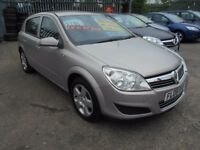 vauxhall astra 1.3 club cdti (90) 5dr 2008 model,1 owner,full service history,mot april,£115 roadtax