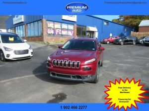 2017 Jeep Cherokee Limited $201 B/W