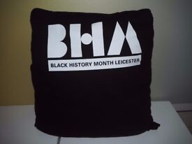 Black History Month Leicester Cushion