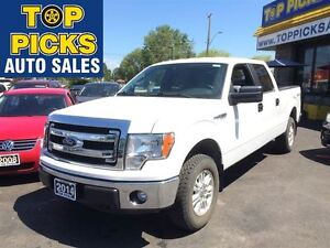 2014 Ford F-150 XLT CREW CAB, 4X4, POWER GROUP, 5.0 LITRE